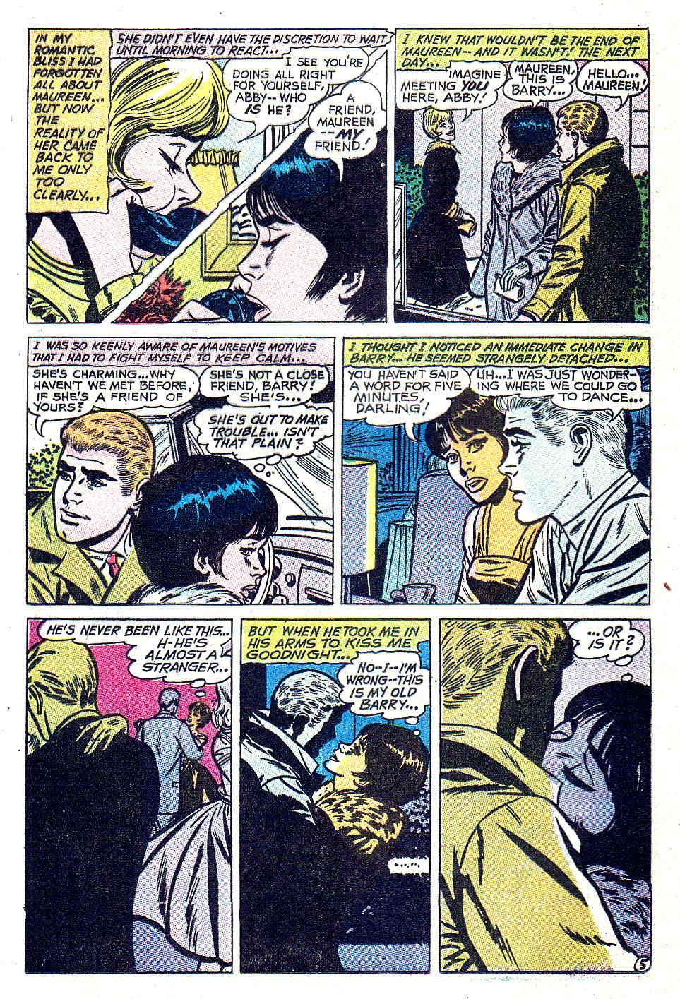 Read online Secret Hearts comic -  Issue #131 - 16