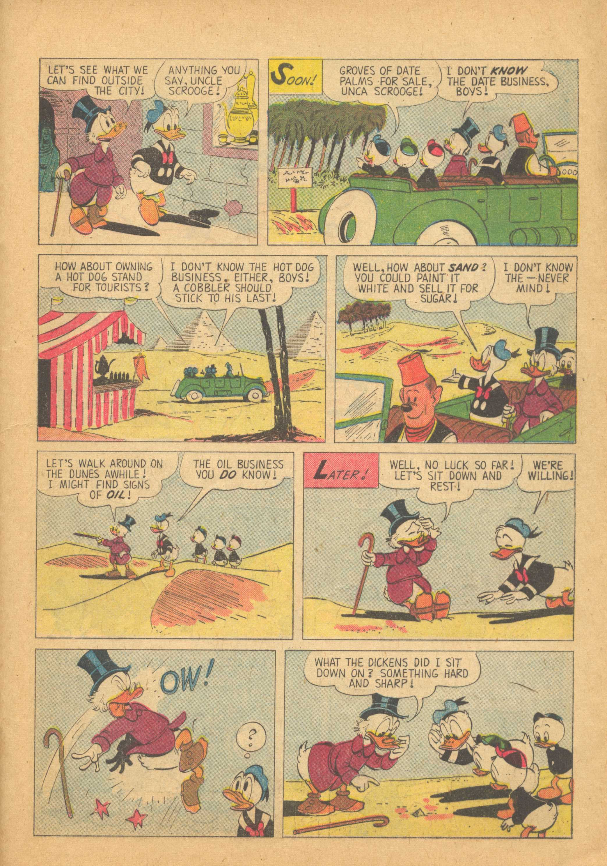 Read online Uncle Scrooge (1953) comic -  Issue #25 - 29