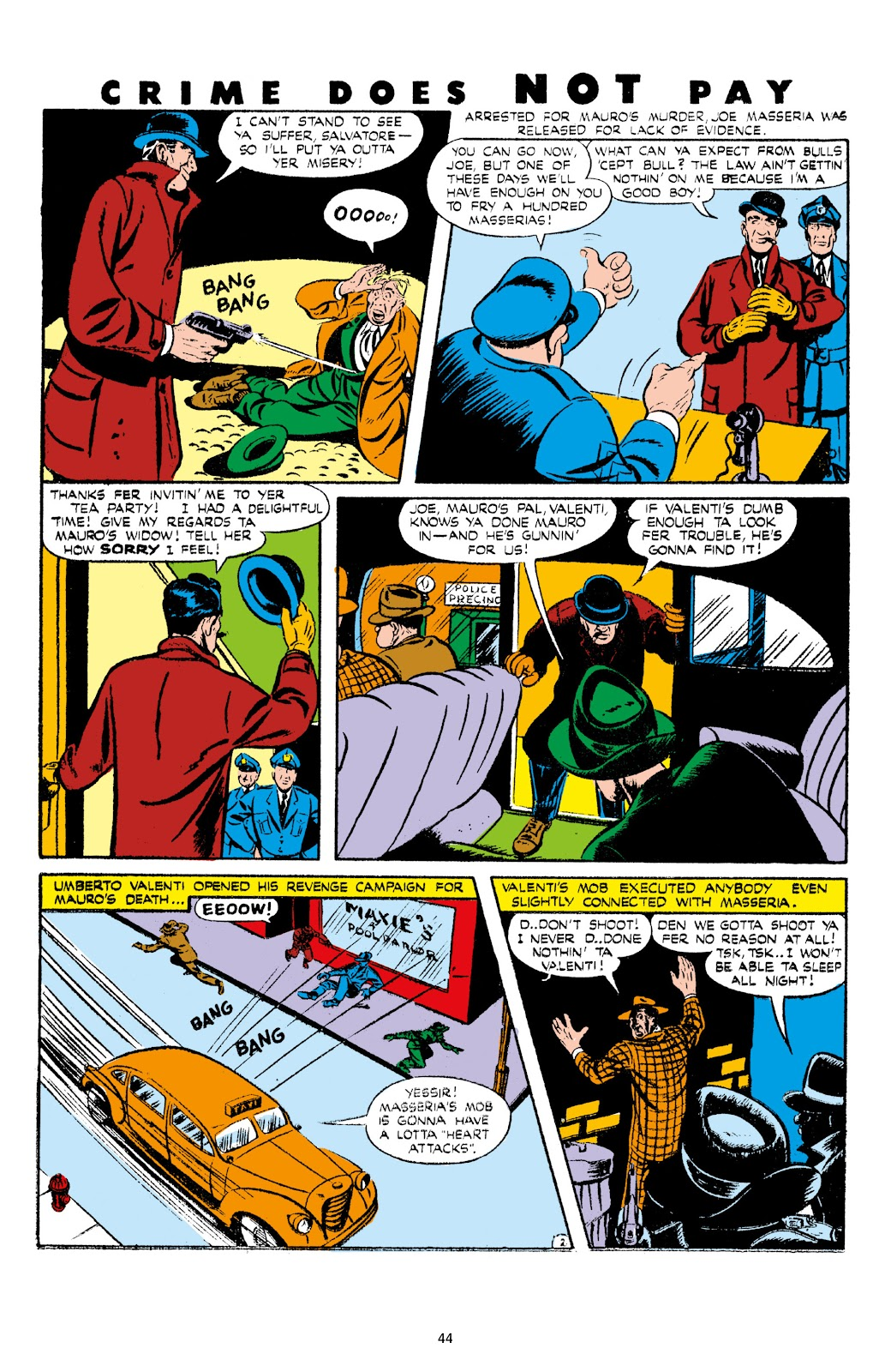 Read online Crime Does Not Pay Archives comic -  Issue # TPB 7 (Part 1) - 46