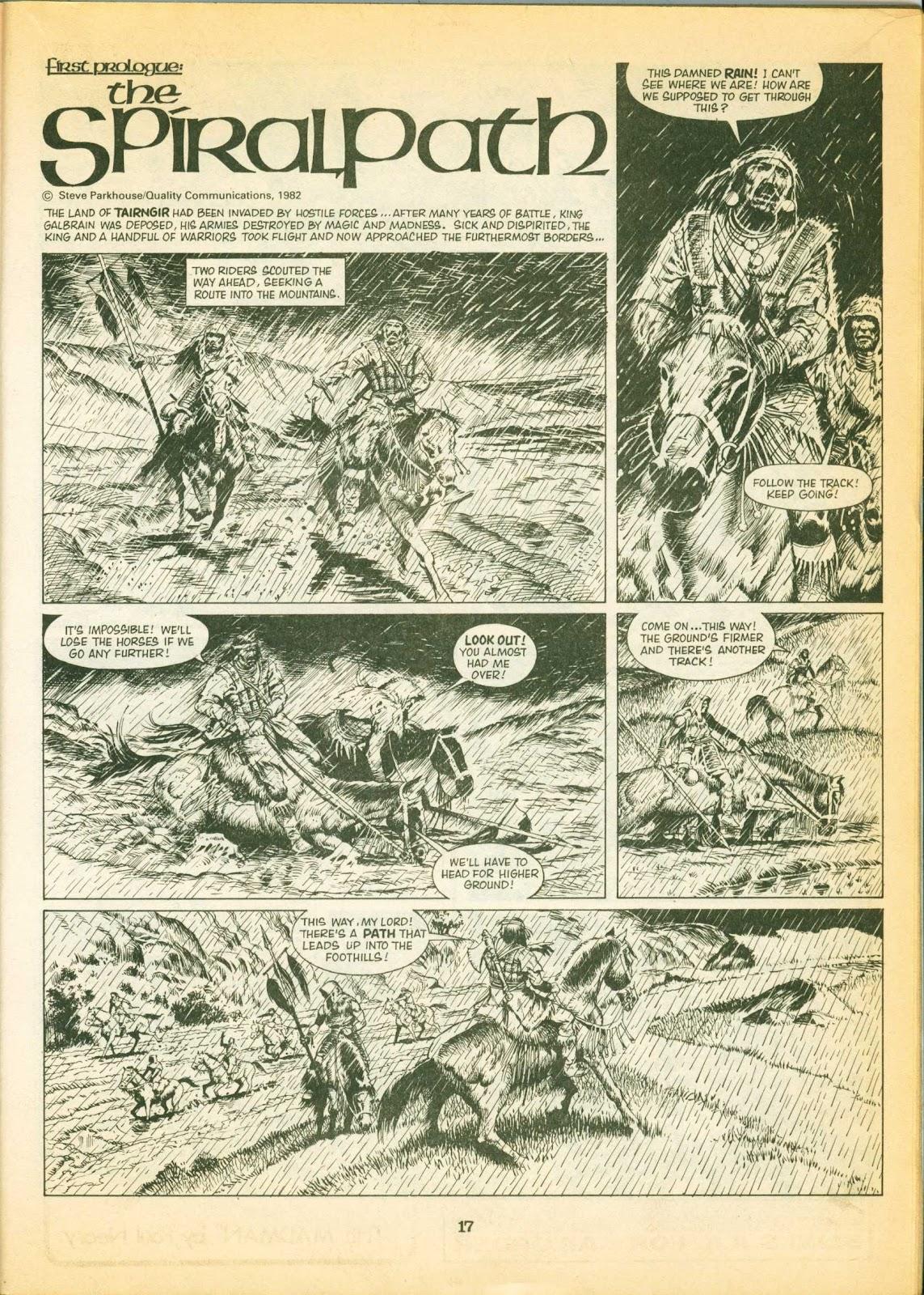 Warrior Issue #1 #2 - English 17