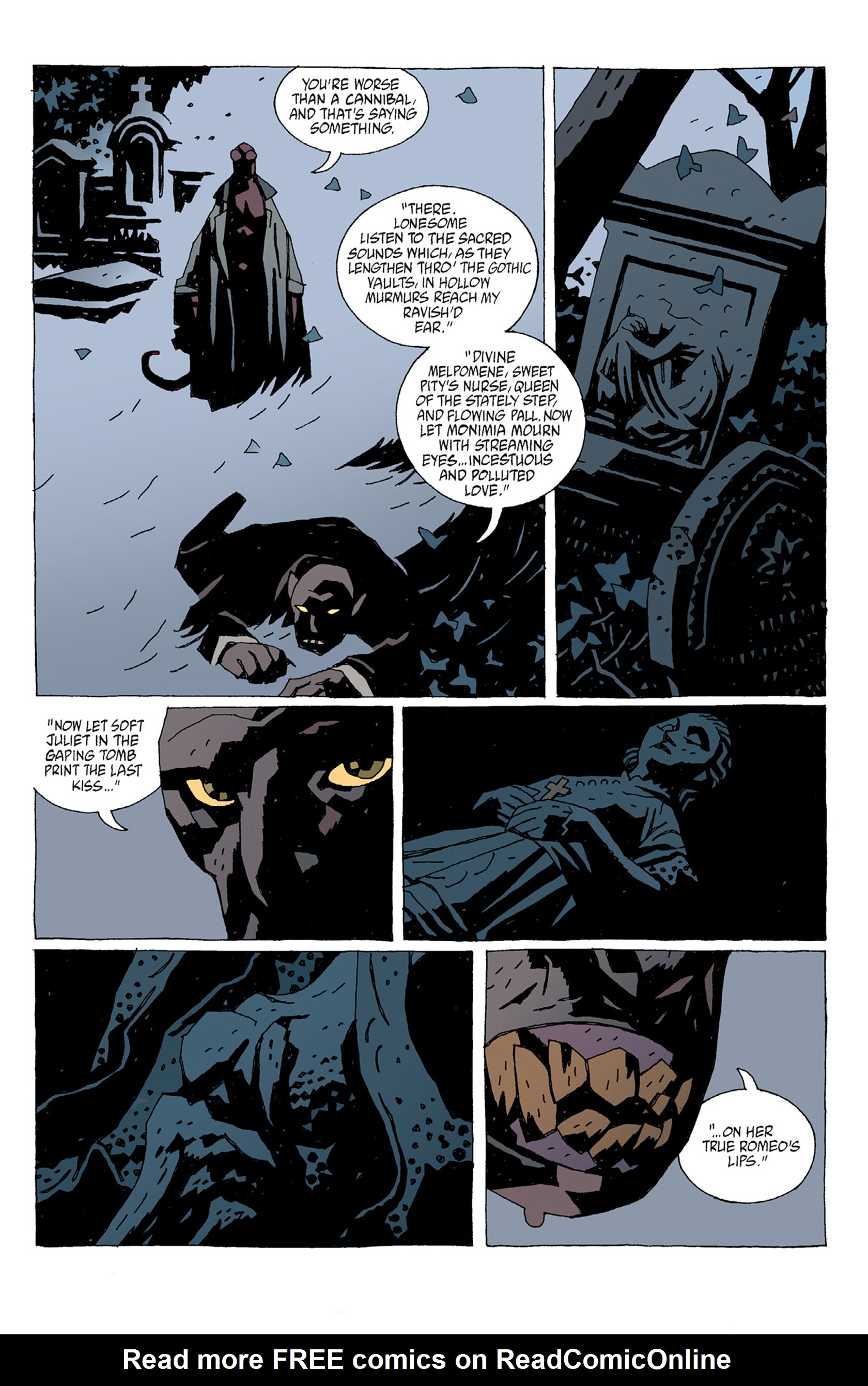 Read online Hellboy: The Troll Witch and Others comic -  Issue # TPB - 75