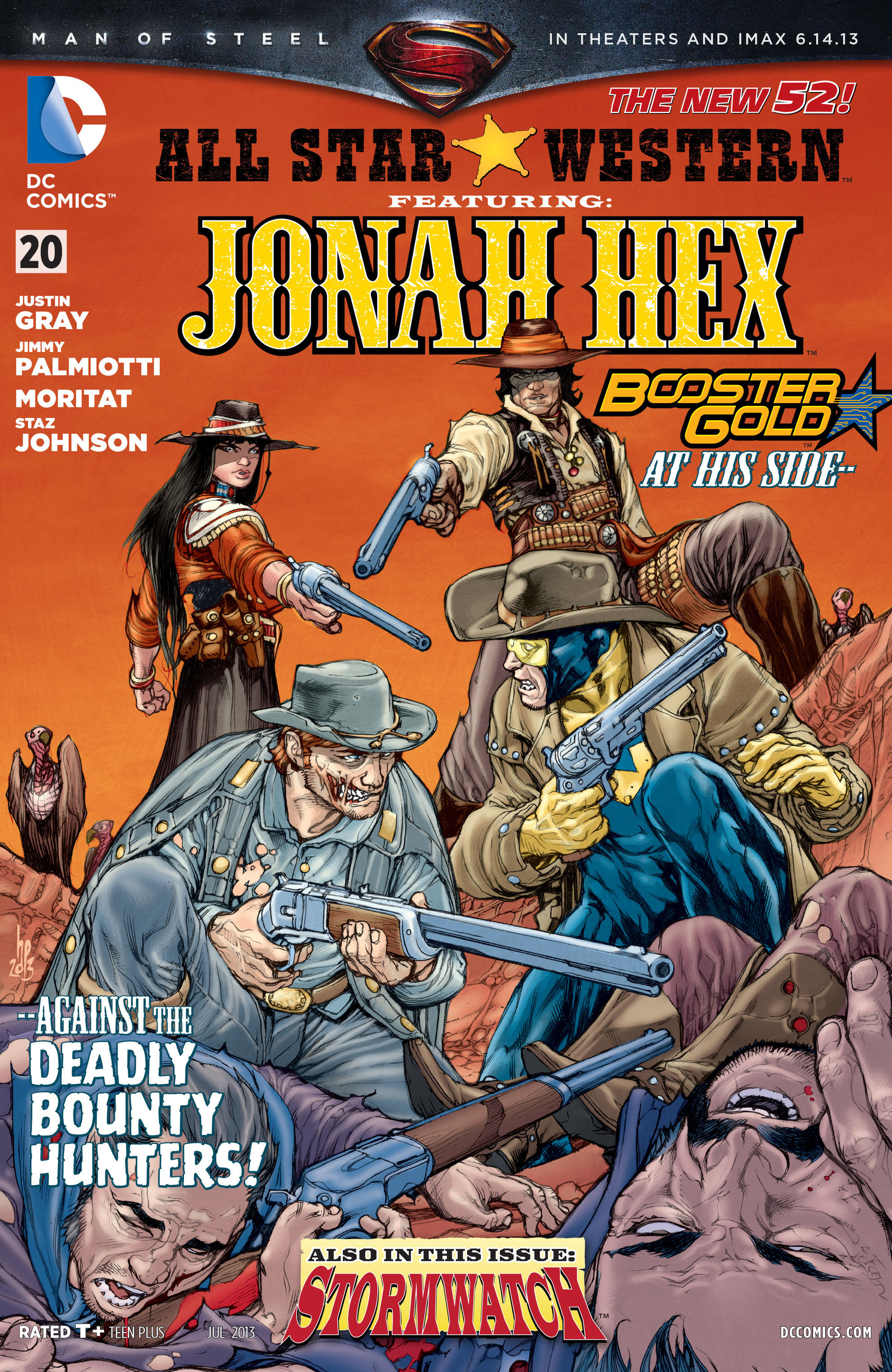 Read online All-Star Western (2011) comic -  Issue #20 - 1