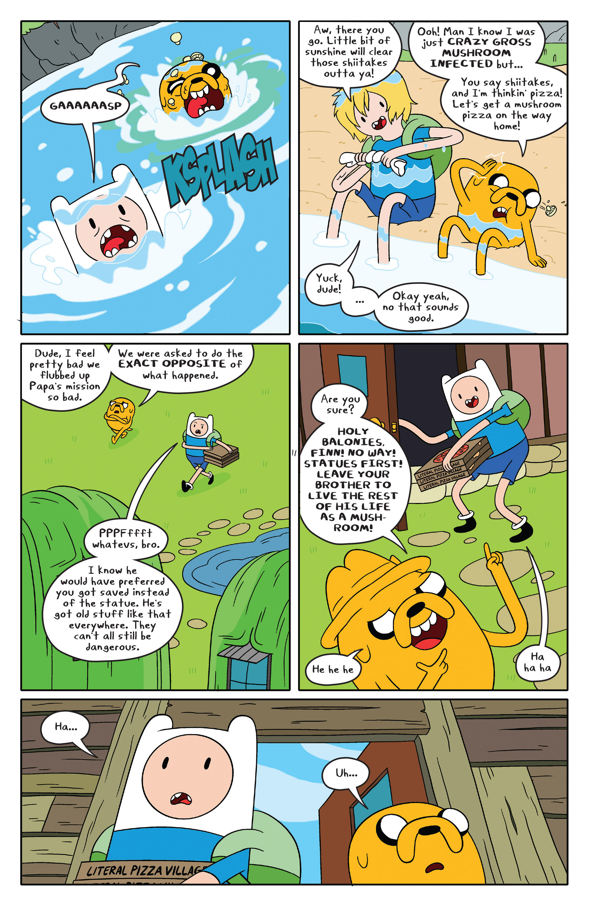Read online Adventure Time comic -  Issue #46 - 12