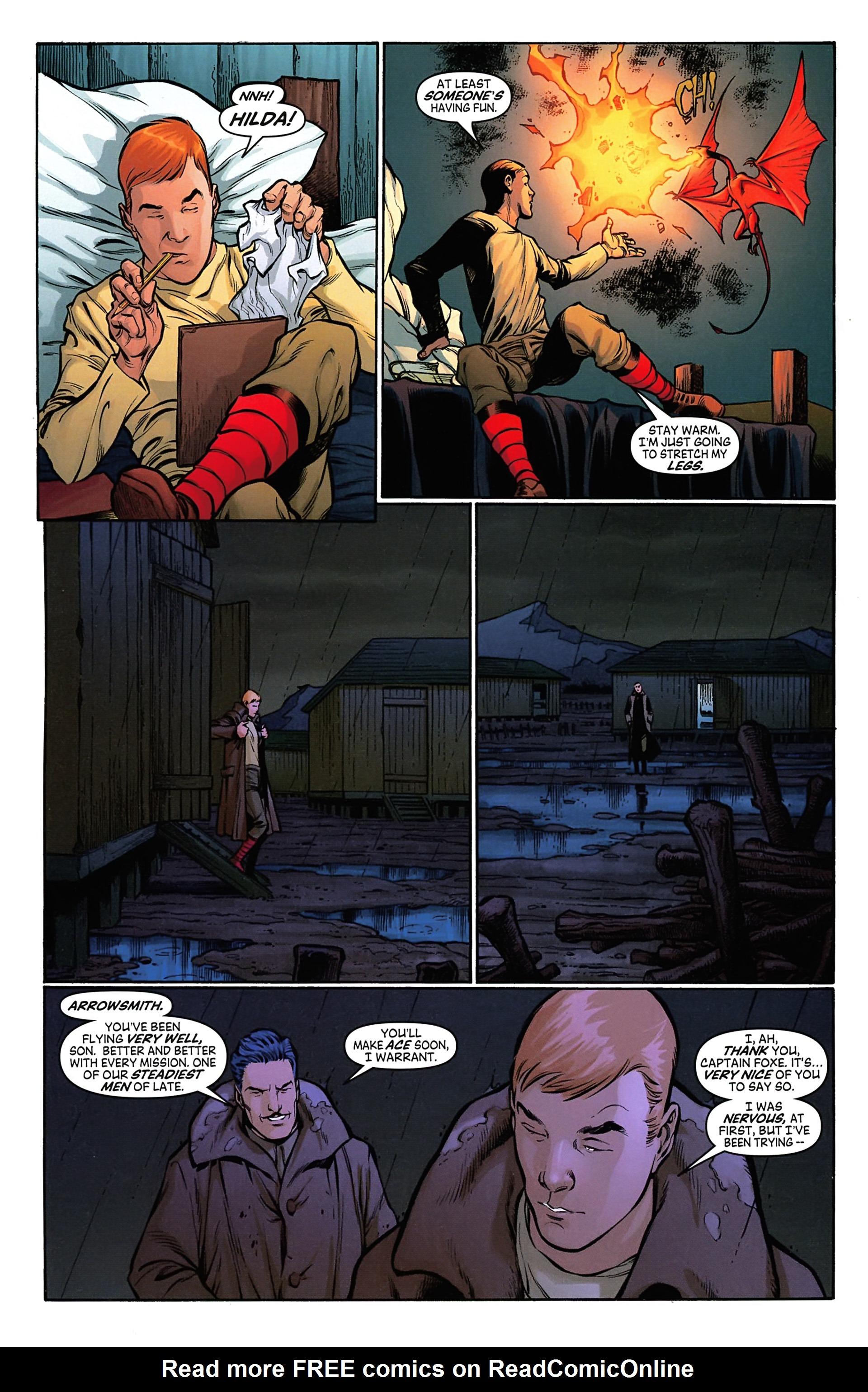 Read online Arrowsmith comic -  Issue #4 - 10