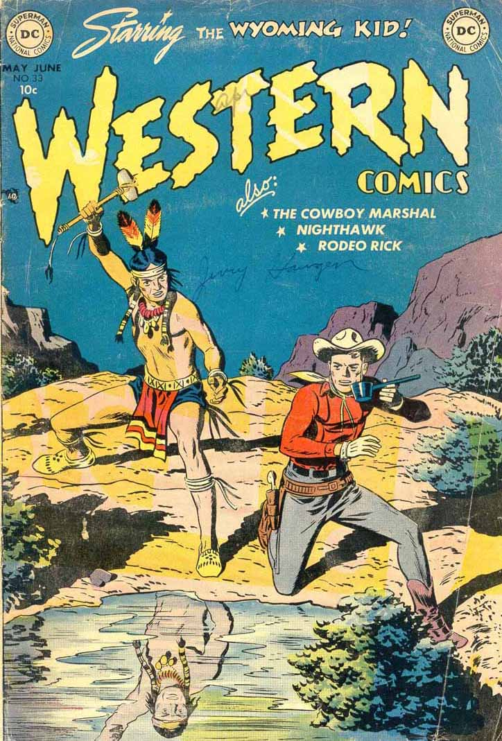 Western Comics 33 Page 1