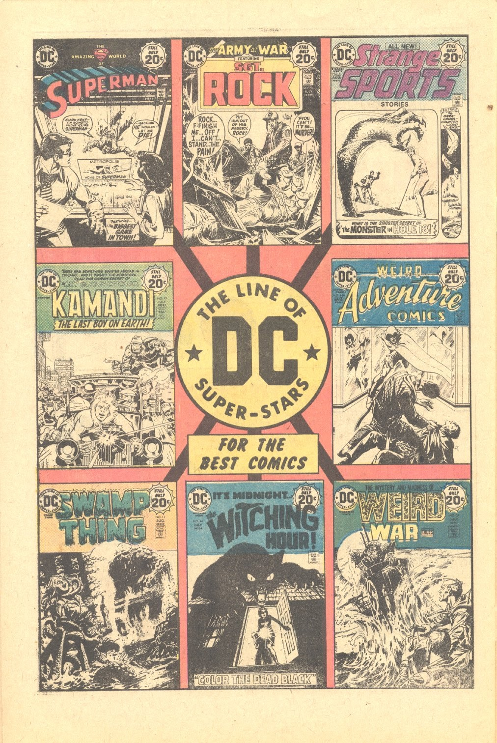 Read online Strange Sports Stories (1973) comic -  Issue #6 - 21