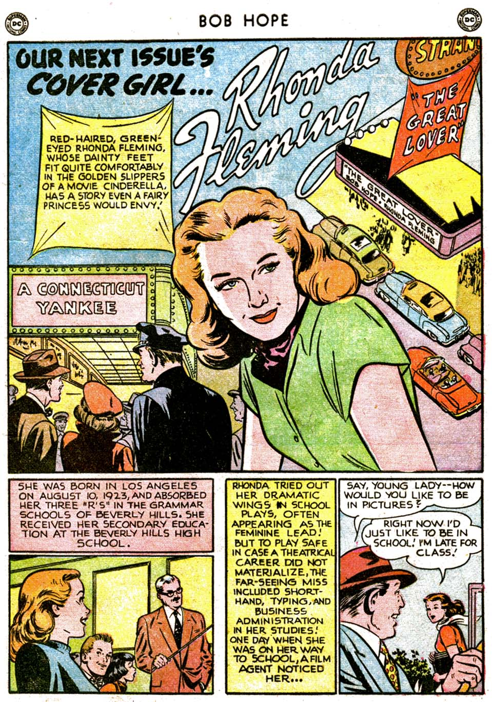 The Adventures of Bob Hope issue 1 - Page 13