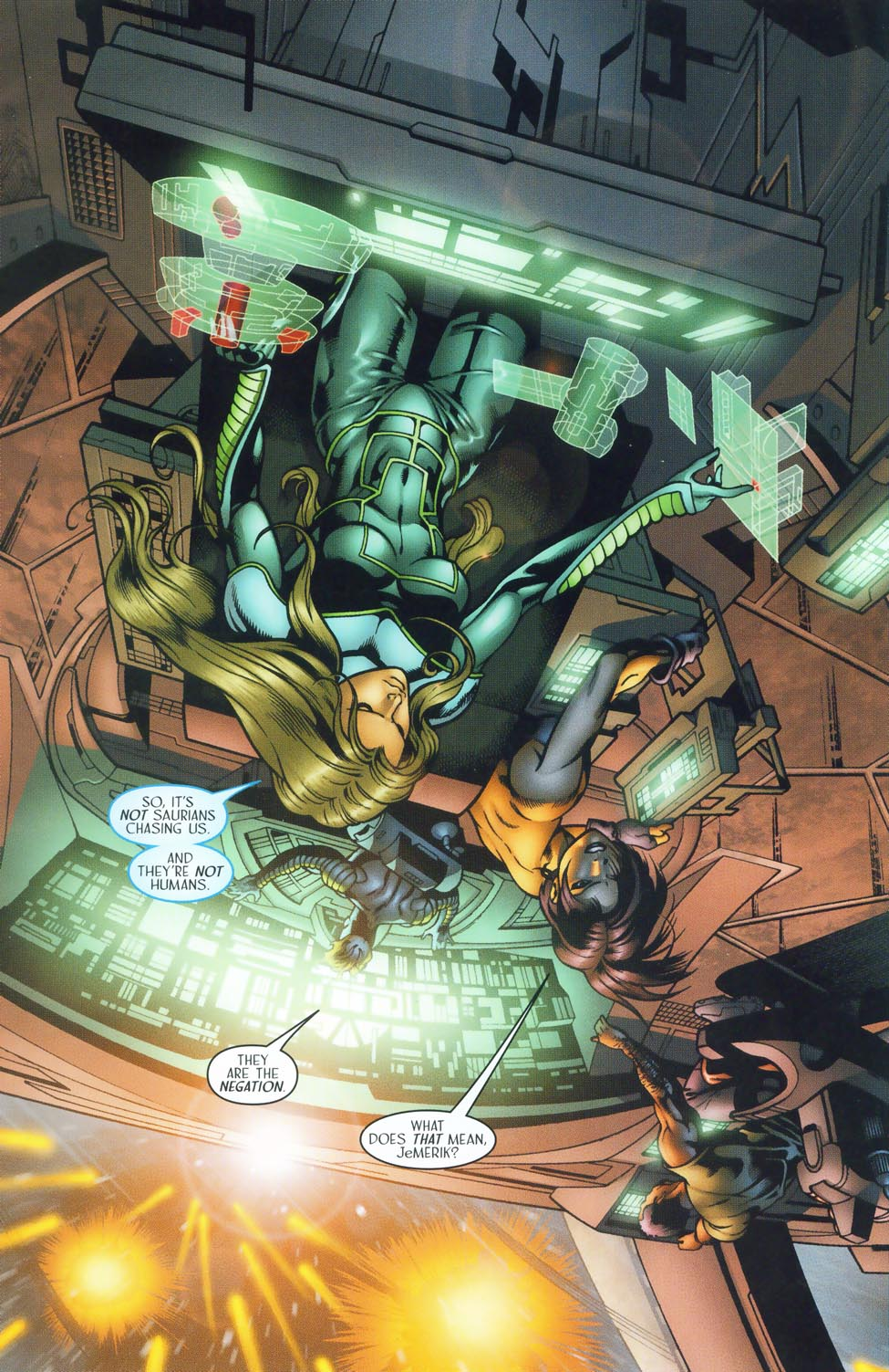 Read online Sigil (2000) comic -  Issue #37 - 5