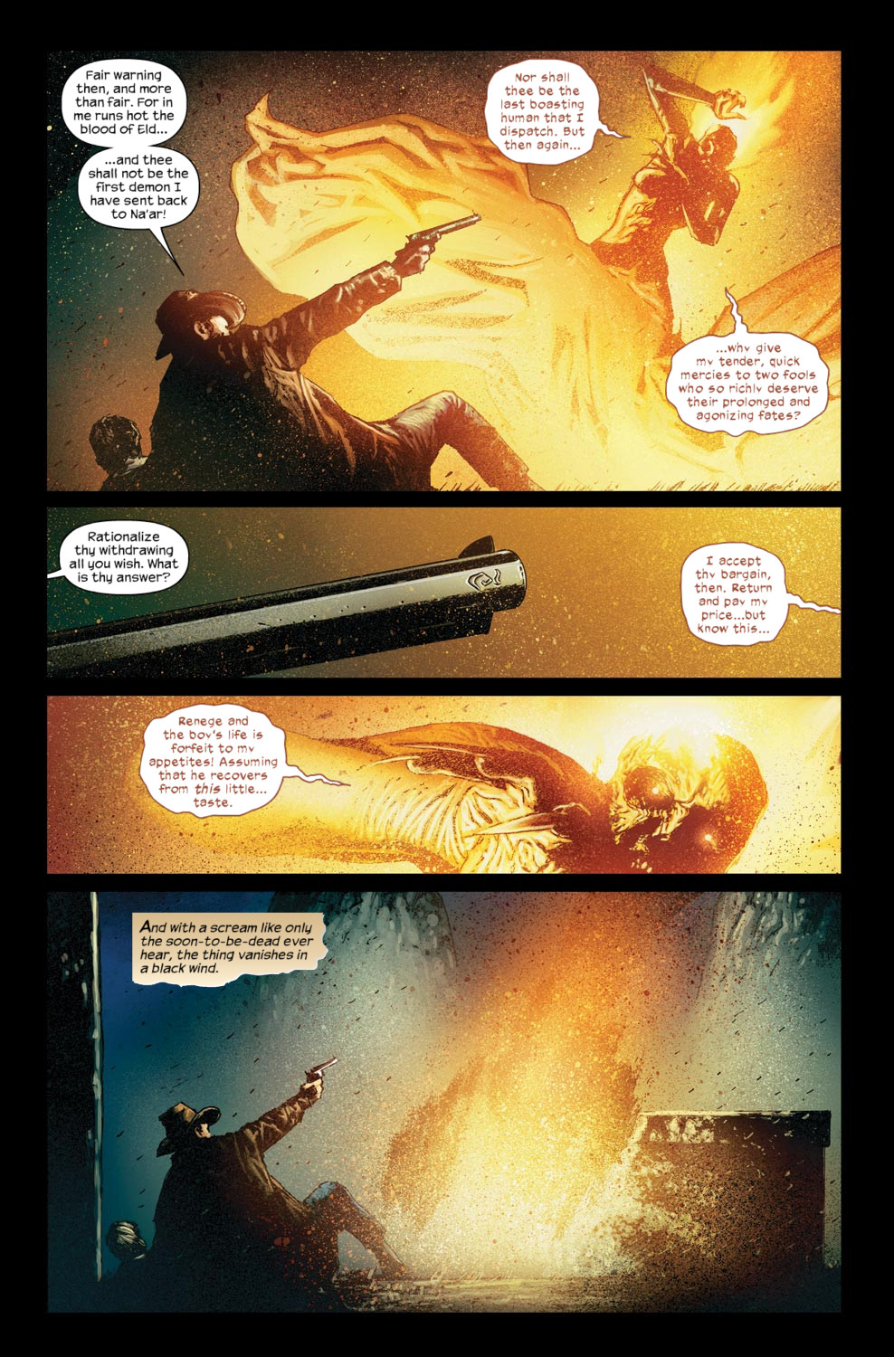 Read online Dark Tower: The Gunslinger - The Way Station comic -  Issue #5 - 5
