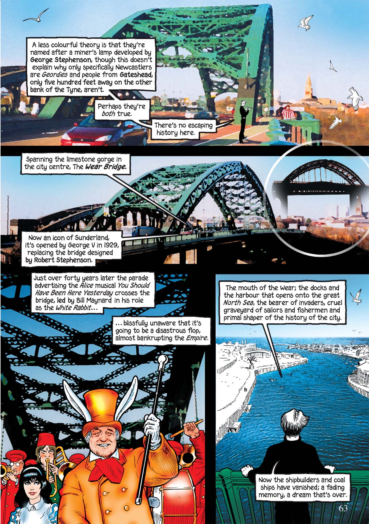 Read online Alice in Sunderland comic -  Issue # Full - 67