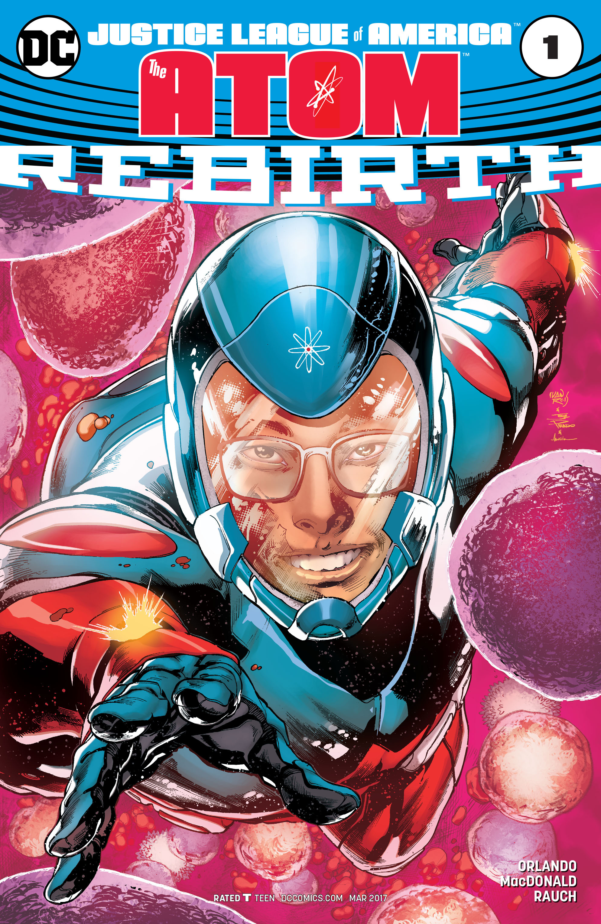 Read online Justice League of America: The Atom Rebirth comic -  Issue # Full - 1