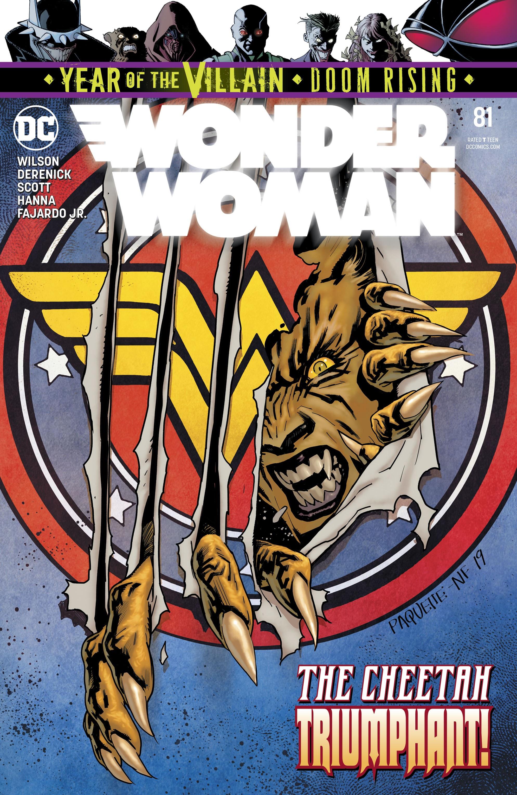 Wonder Woman (2016) 81 Page 1