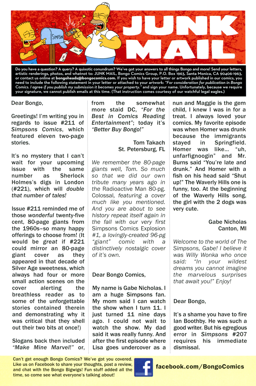Read online Simpsons Comics comic -  Issue #213 - 28