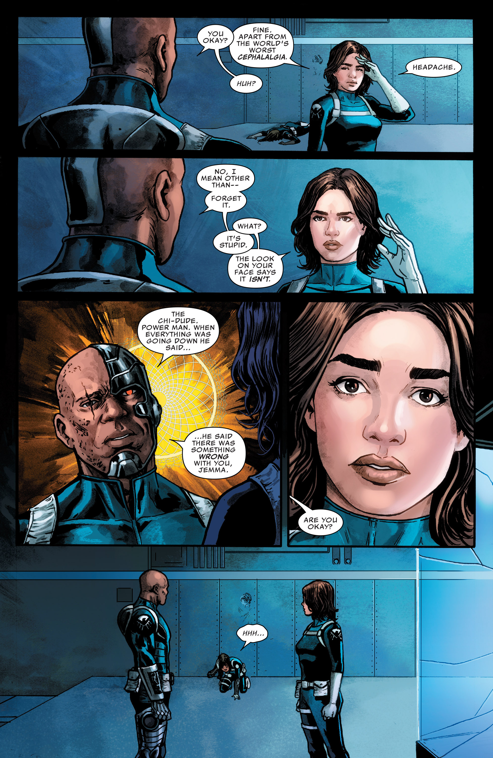 Read online Agents of S.H.I.E.L.D. comic -  Issue #4 - 17