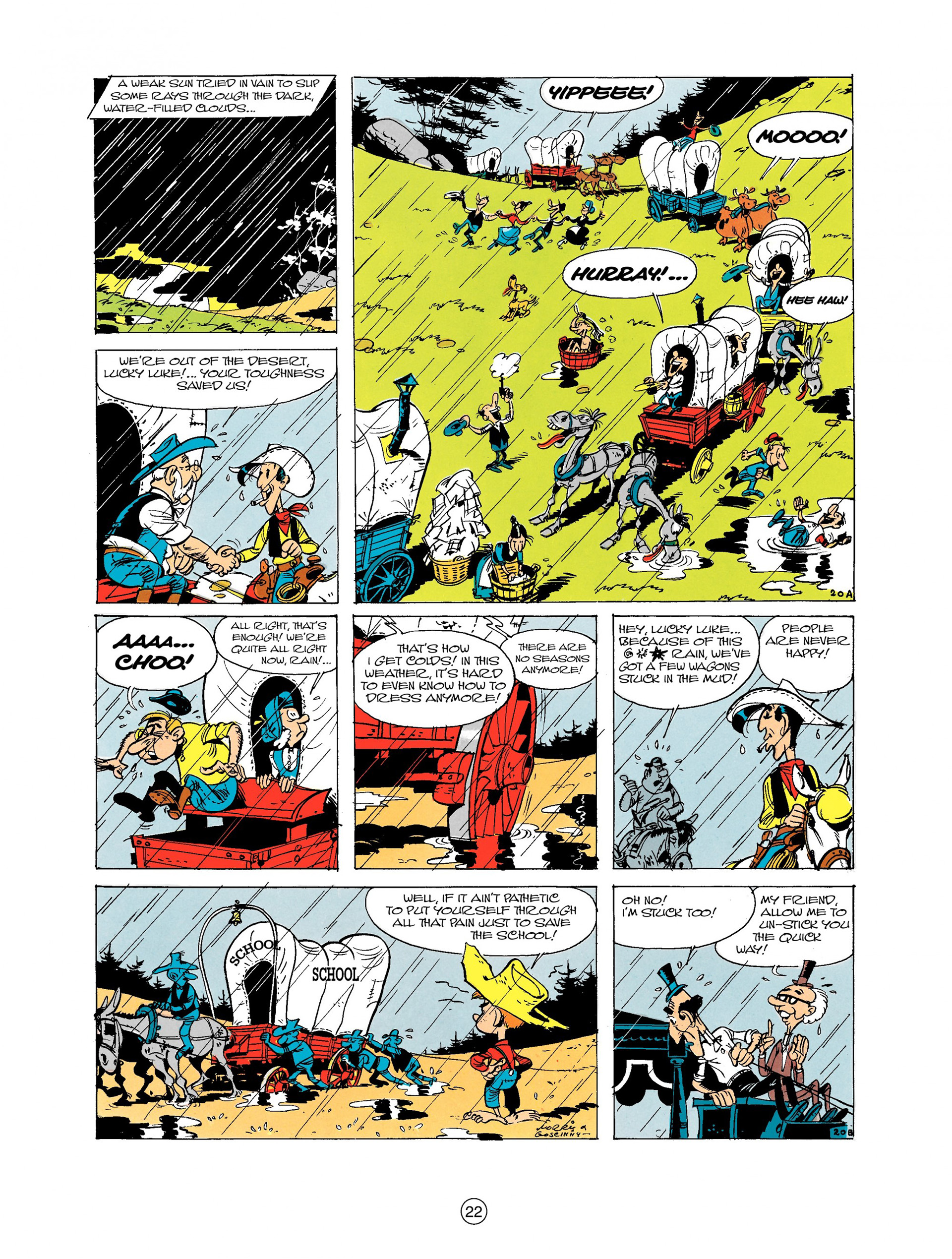Read online A Lucky Luke Adventure comic -  Issue #9 - 22