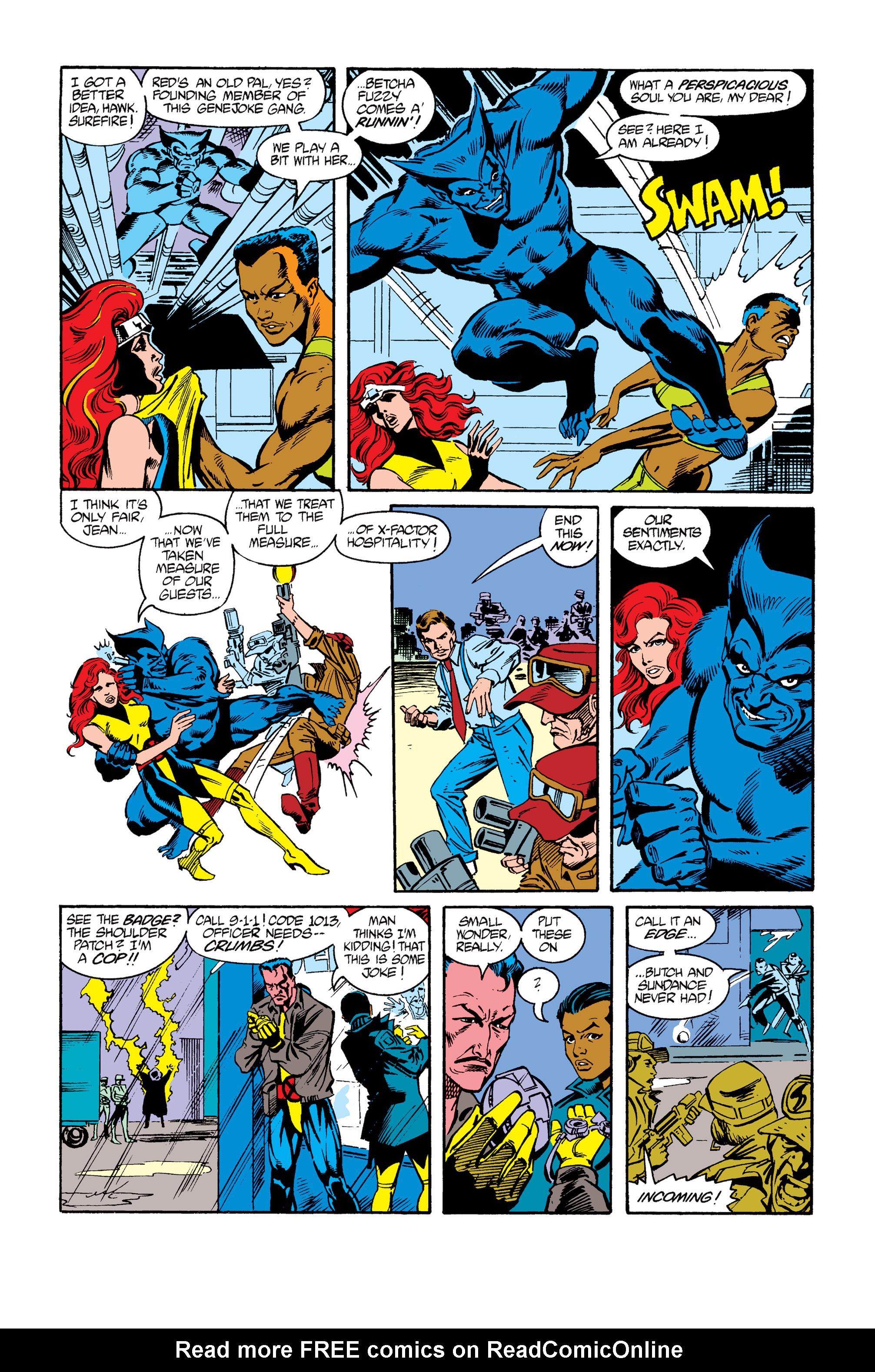 Read online Uncanny X-Men (1963) comic -  Issue #264 - 20