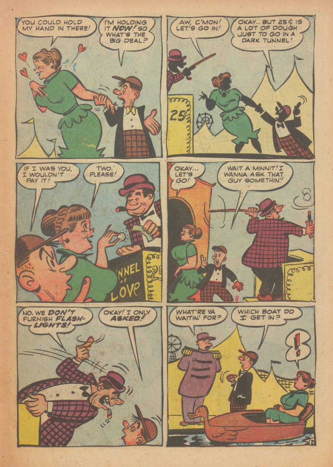 Read online Nellie The Nurse (1945) comic -  Issue #33 - 11