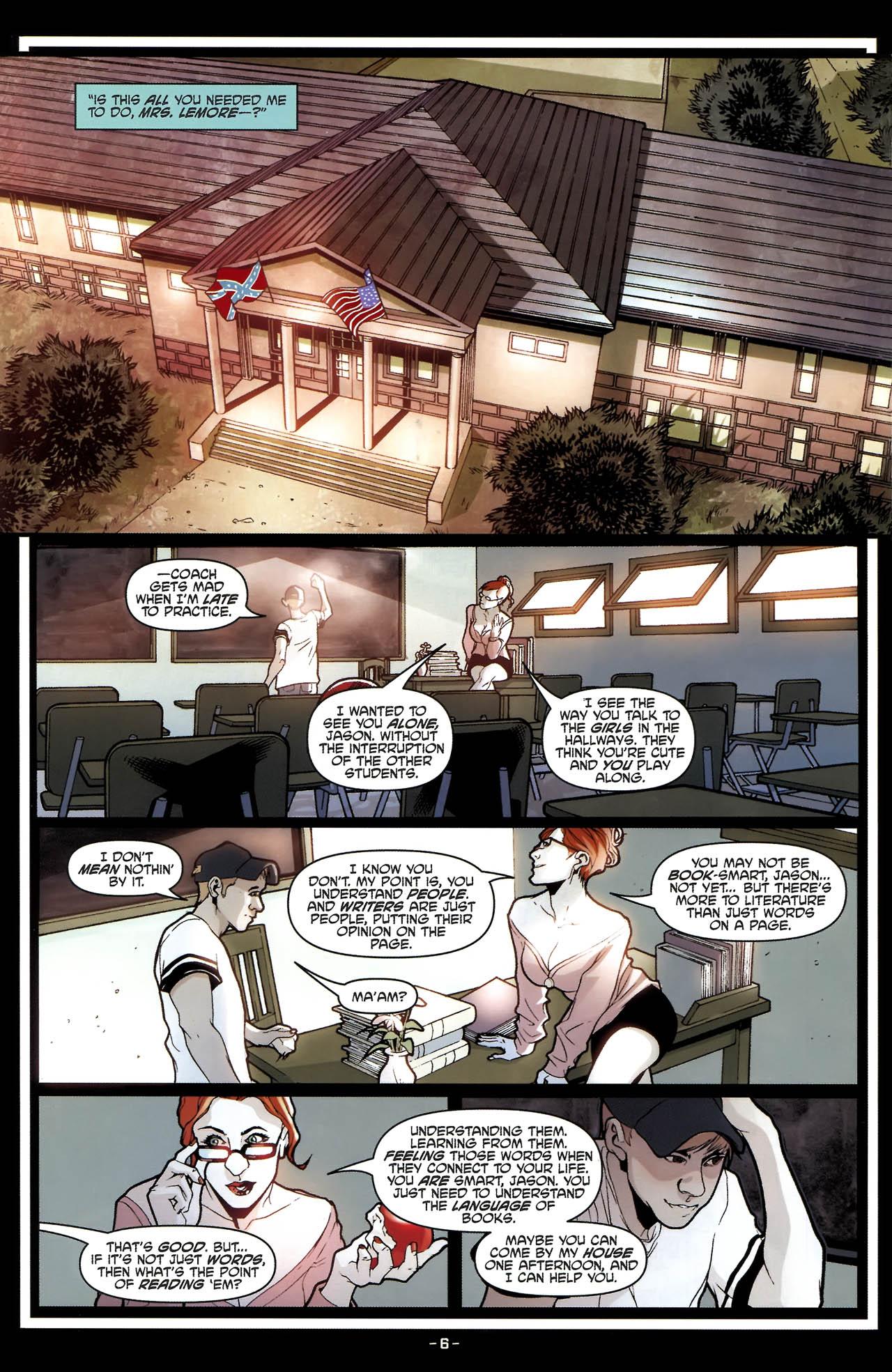 Read online True Blood (2010) comic -  Issue #5 - 9