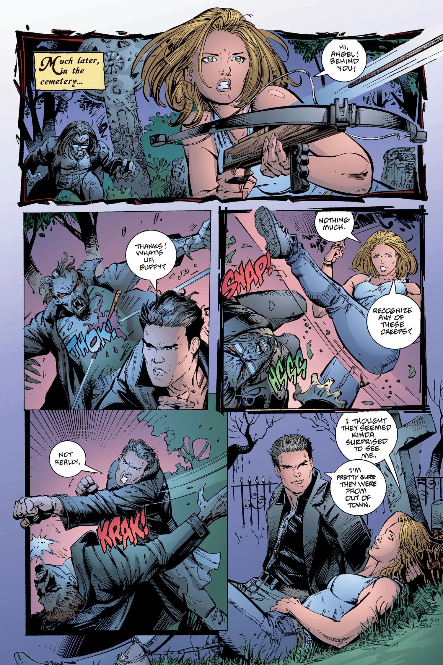 Read online Buffy the Vampire Slayer: Omnibus comic -  Issue # TPB 2 - 251
