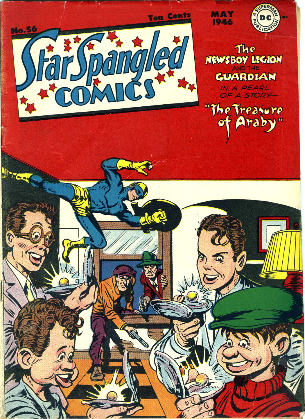 Star Spangled Comics (1941) issue 56 - Page 1