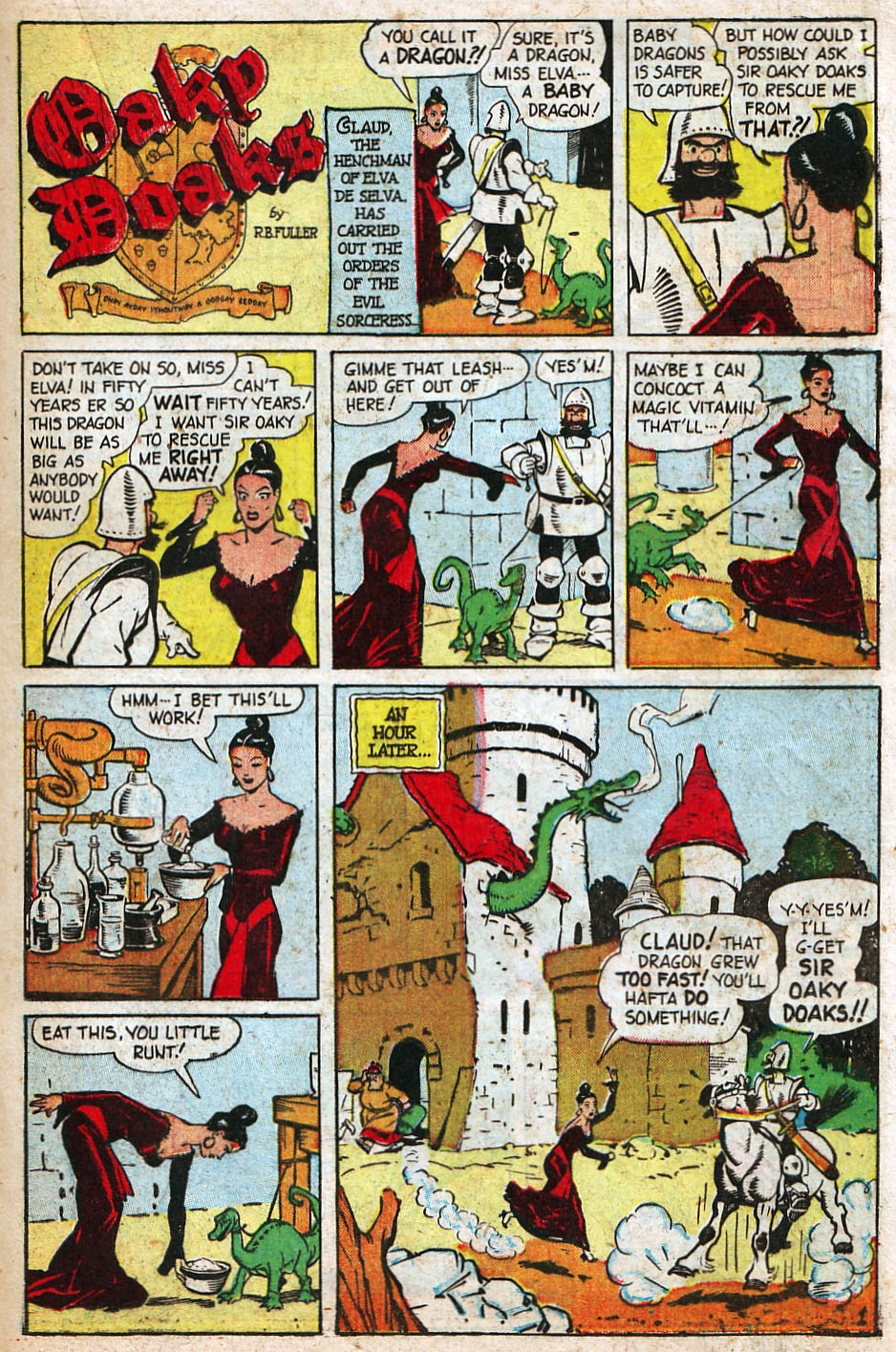 Read online Famous Funnies comic -  Issue #192 - 35