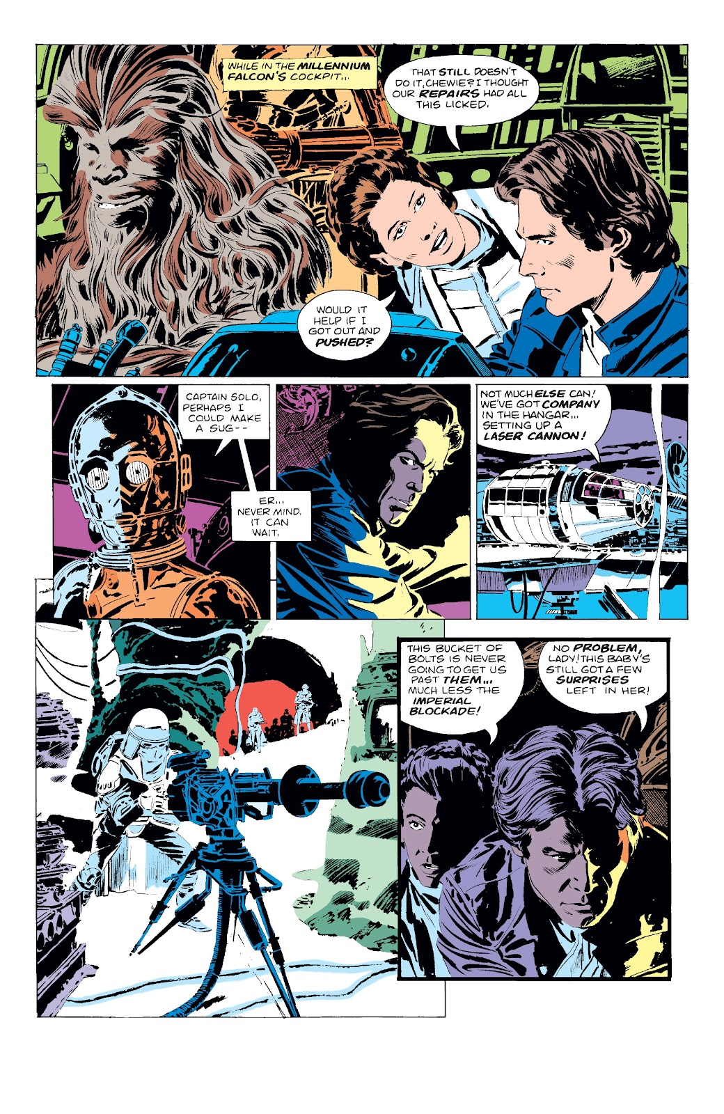 Read online Star Wars Legends: The Original Marvel Years - Epic Collection comic -  Issue # TPB 3 (Part 1) - 49