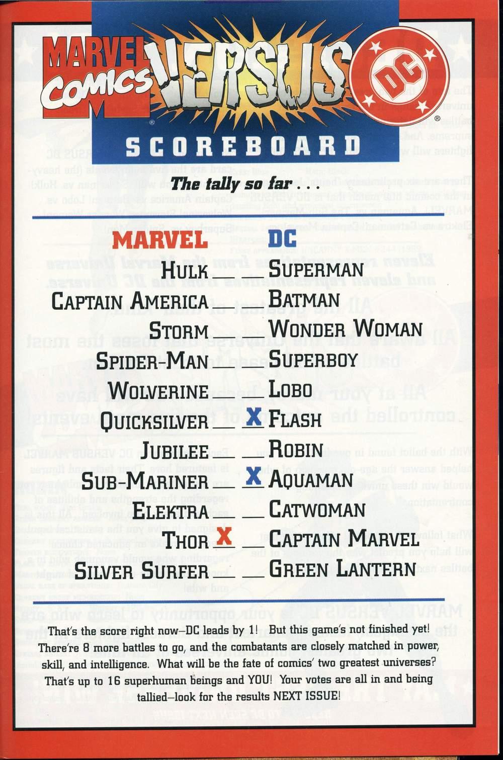Read online DC Versus Marvel Comics comic -  Issue #2 - 34