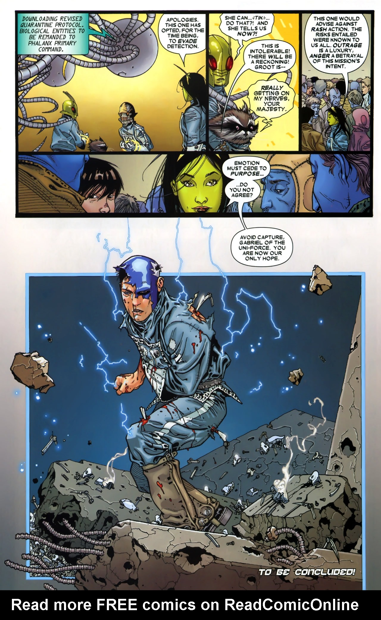 Read online Annihilation: Conquest - Starlord comic -  Issue #3 - 24