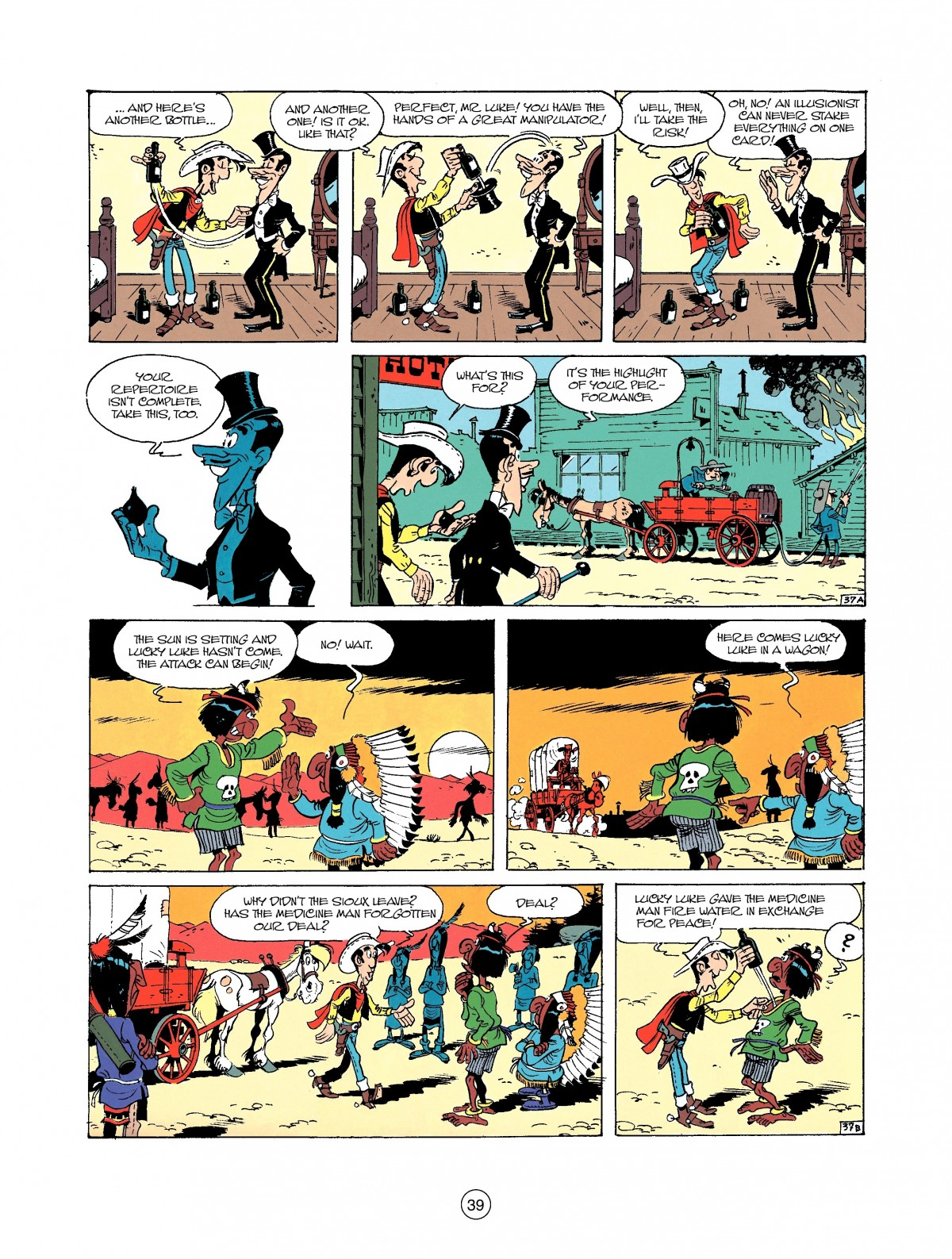 Read online A Lucky Luke Adventure comic -  Issue #37 - 39