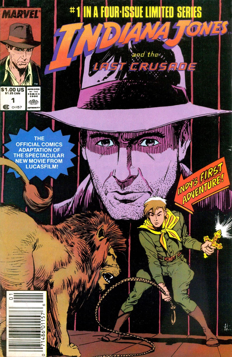 Indiana Jones and the Last Crusade 1 Page 1