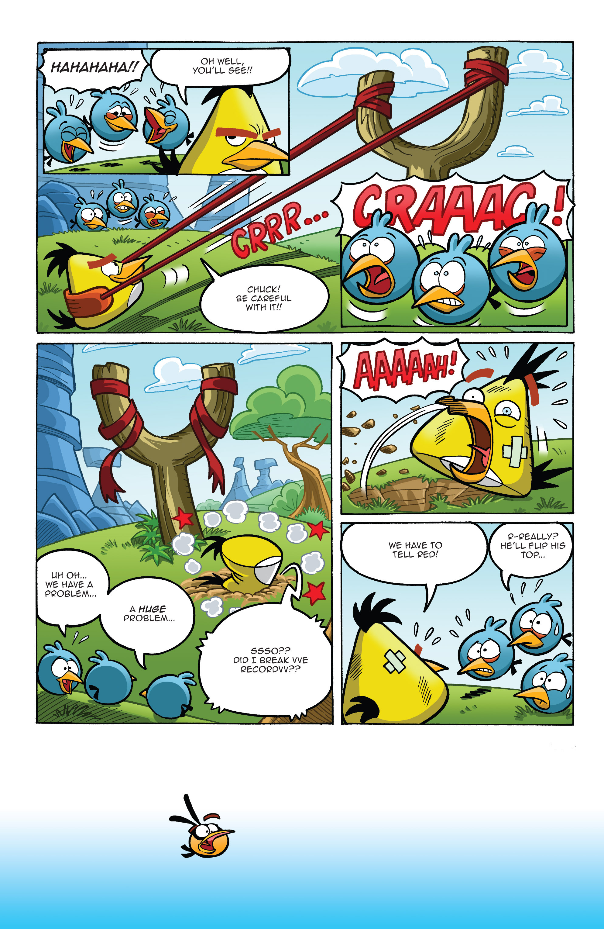 Read online Angry Birds Comics (2014) comic -  Issue #8 - 4
