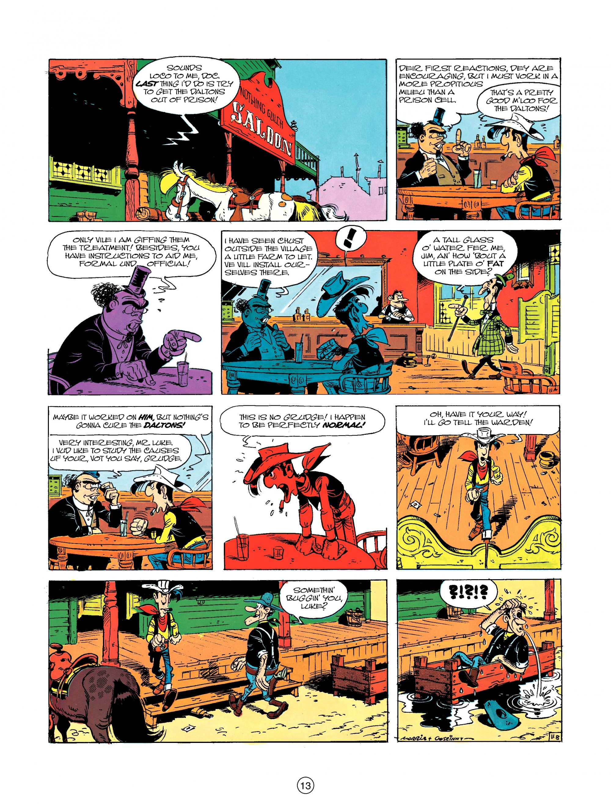 Read online A Lucky Luke Adventure comic -  Issue #23 - 13