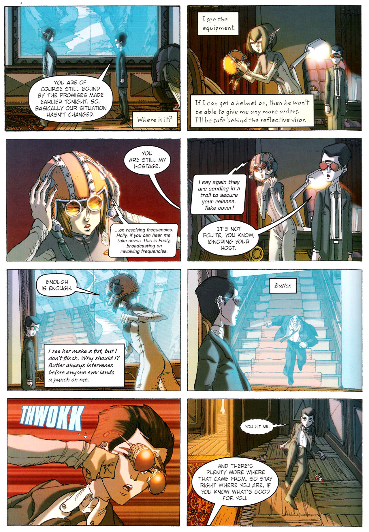 Read online Artemis Fowl: The Graphic Novel comic -  Issue #Artemis Fowl: The Graphic Novel Full - 89