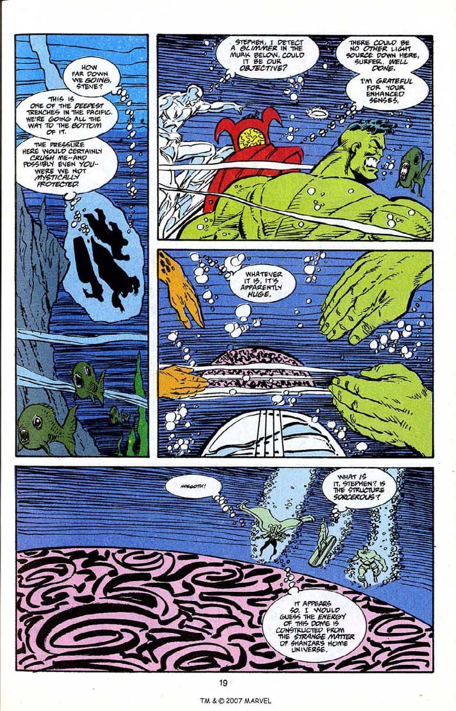 Read online Silver Surfer (1987) comic -  Issue # _Annual 5 - 21
