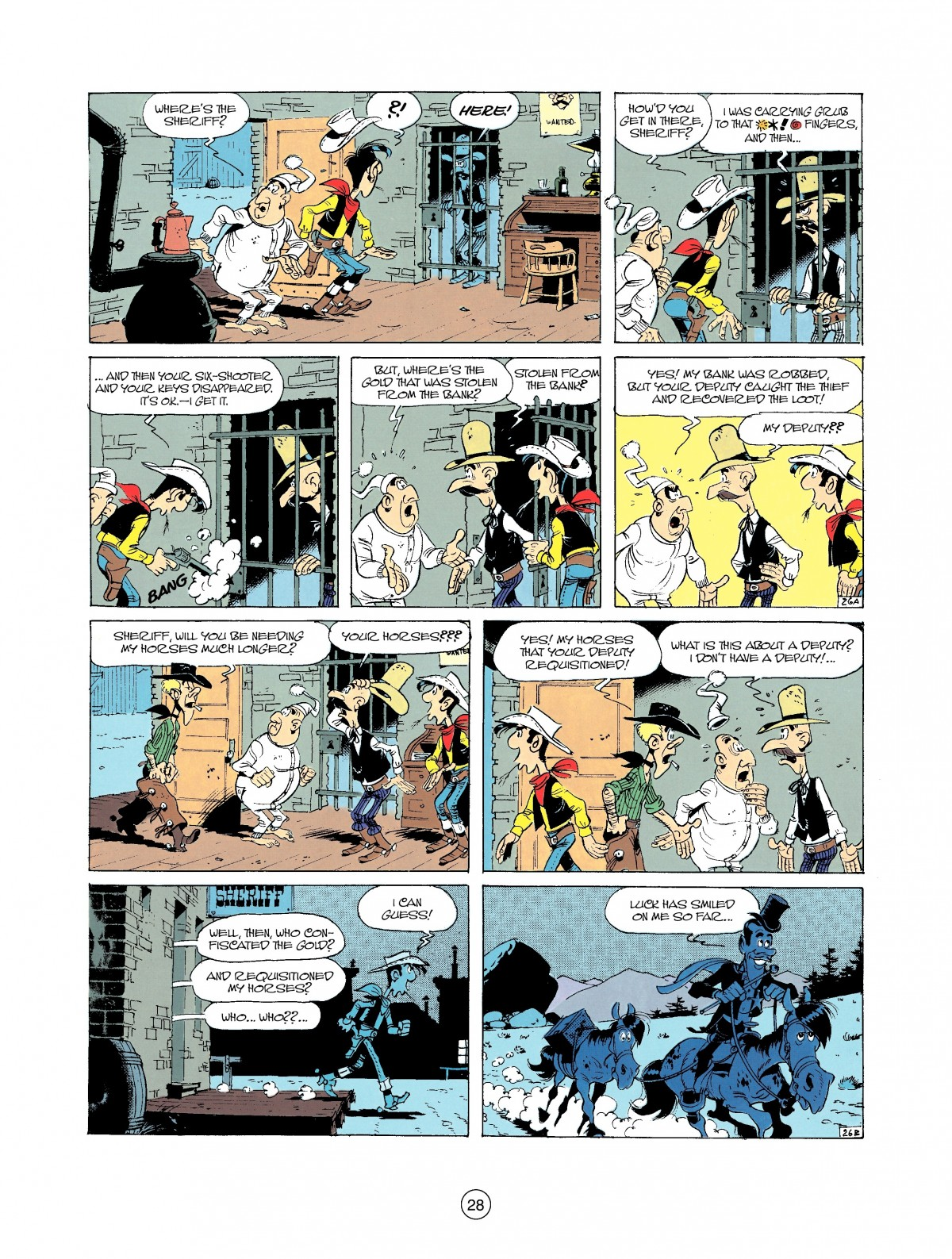 Read online A Lucky Luke Adventure comic -  Issue #37 - 28