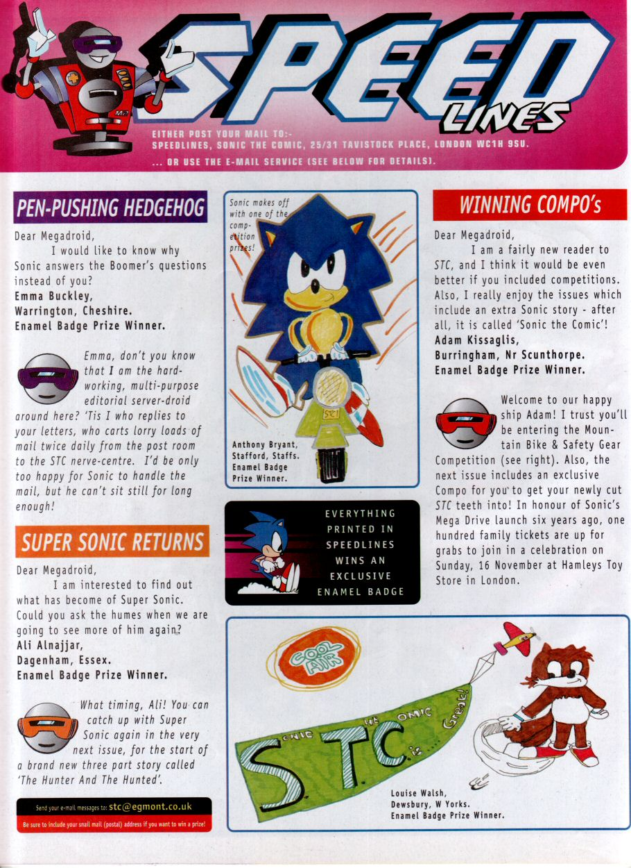 Read online Sonic the Comic comic -  Issue #115 - 15