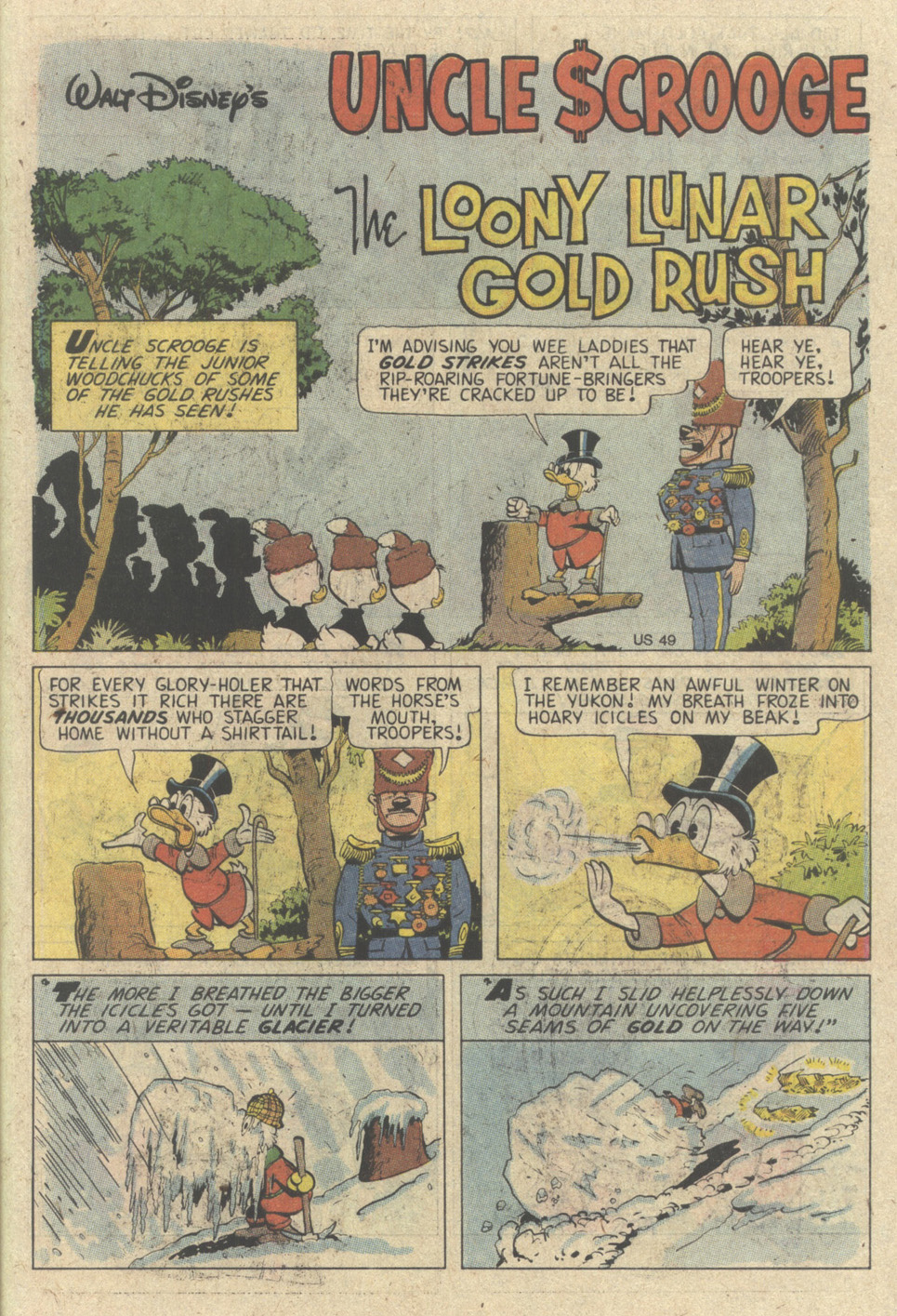 Read online Uncle Scrooge (1953) comic -  Issue #242 - 47