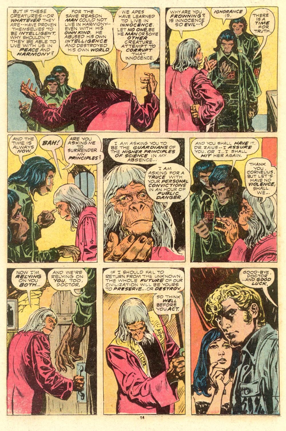 Read online Adventures on the Planet of the Apes comic -  Issue #8 - 9