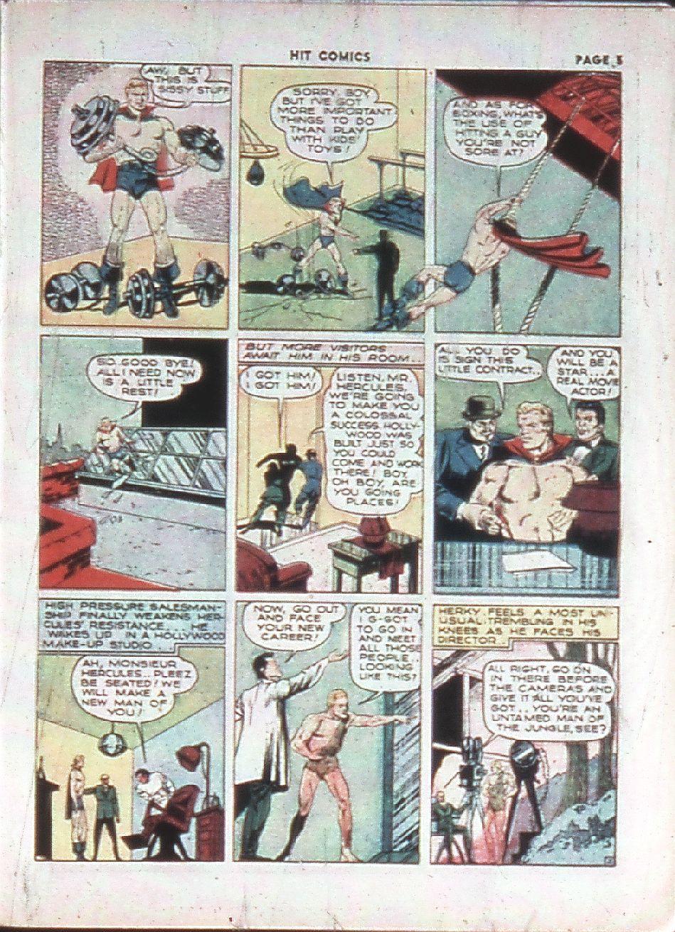 Read online Hit Comics comic -  Issue #10 - 7