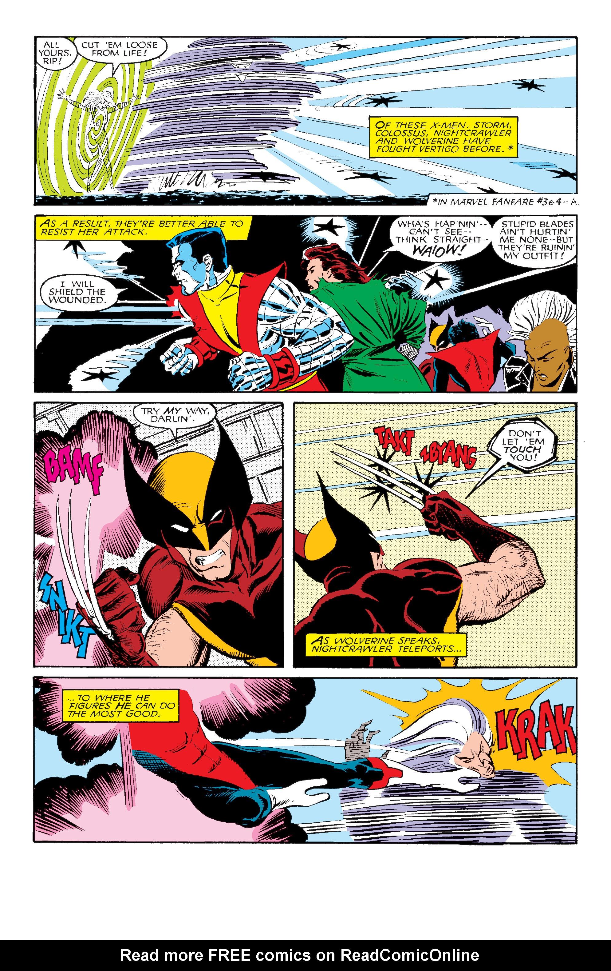 Read online Uncanny X-Men (1963) comic -  Issue #211 - 12