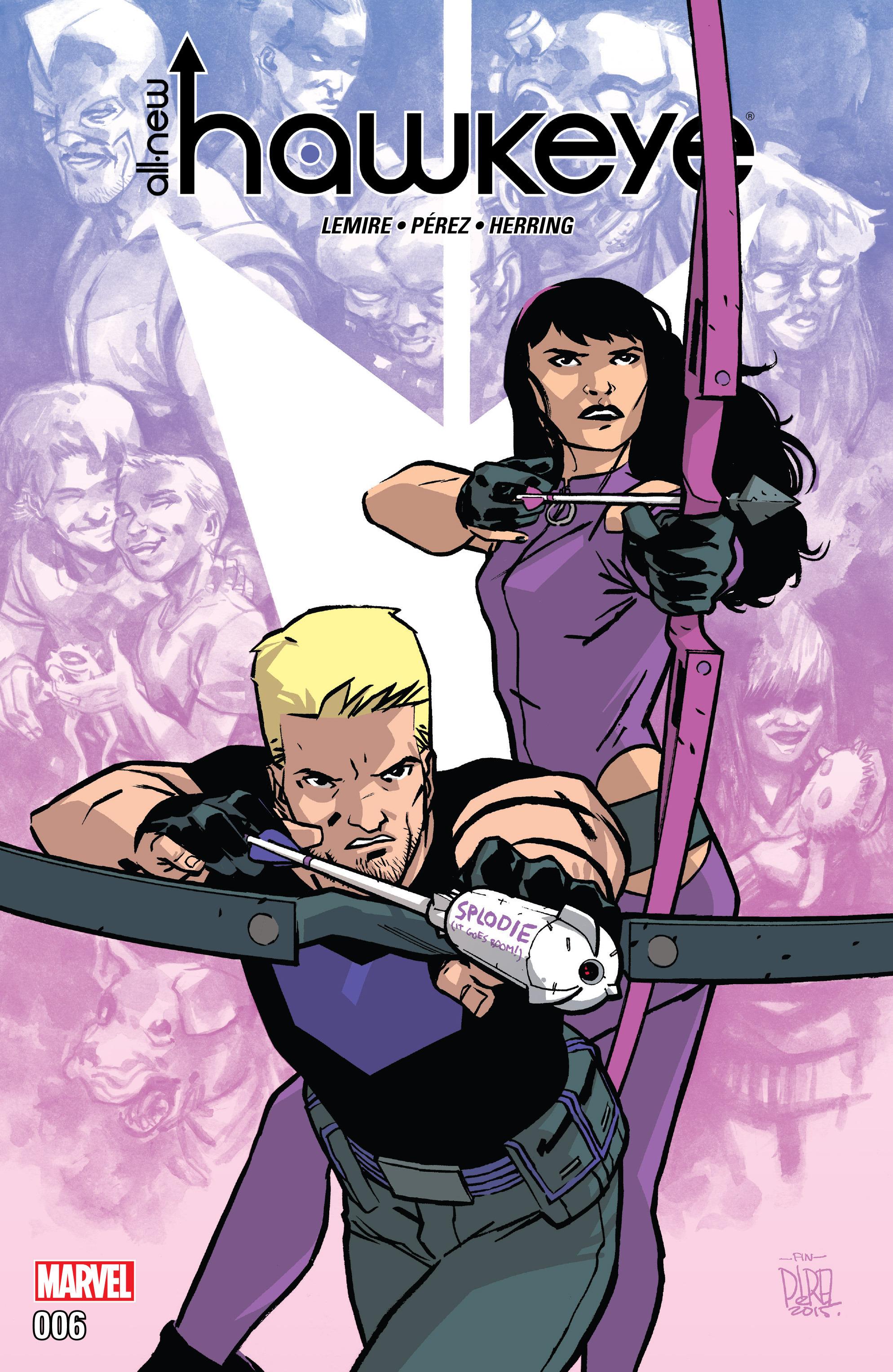 Read online All-New Hawkeye (2016) comic -  Issue #6 - 1