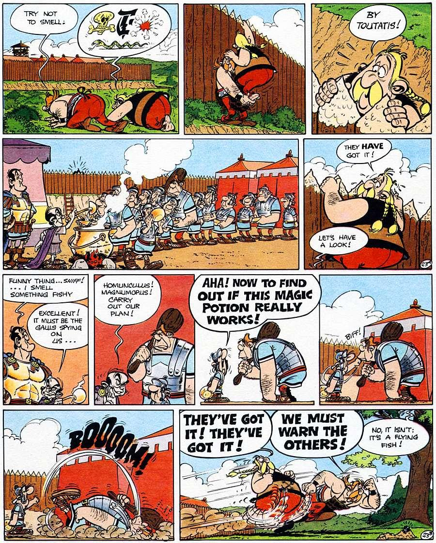 Read online Asterix comic -  Issue #15 - 28