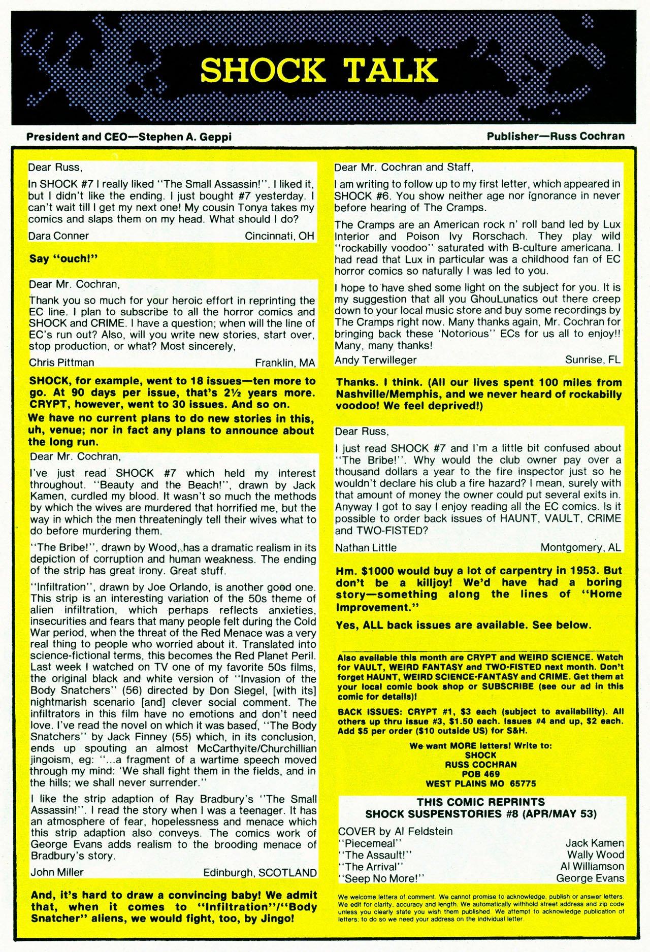 Read online Shock SuspenStories comic -  Issue #8 - 18