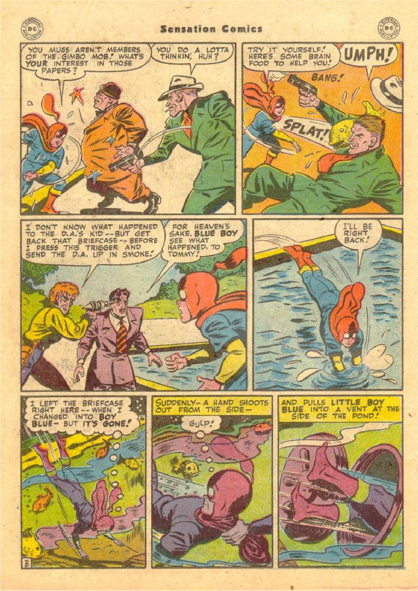 Read online Sensation (Mystery) Comics comic -  Issue #70 - 17