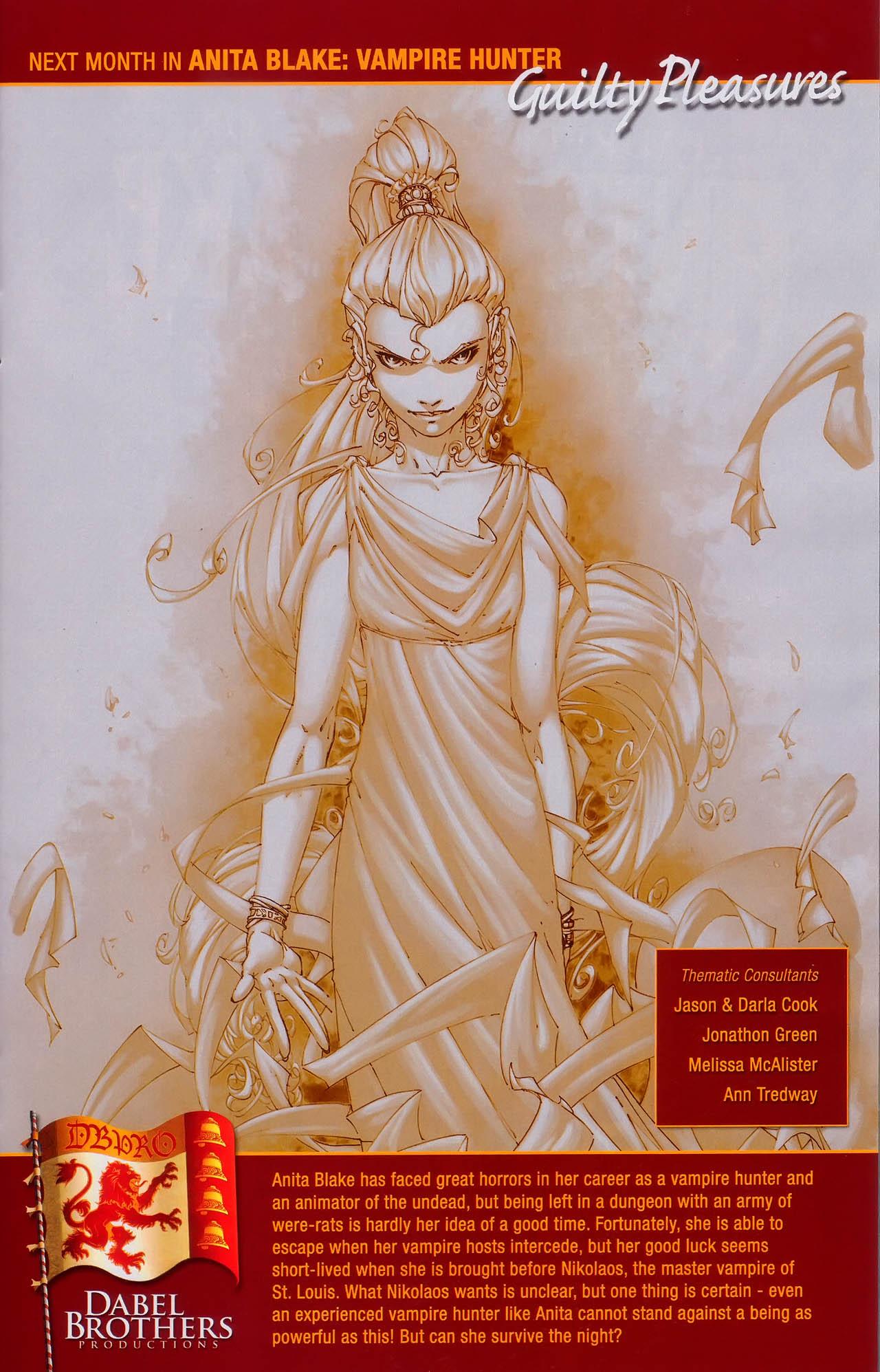 Read online Anita Blake, Vampire Hunter: Guilty Pleasures comic -  Issue #3 - 25