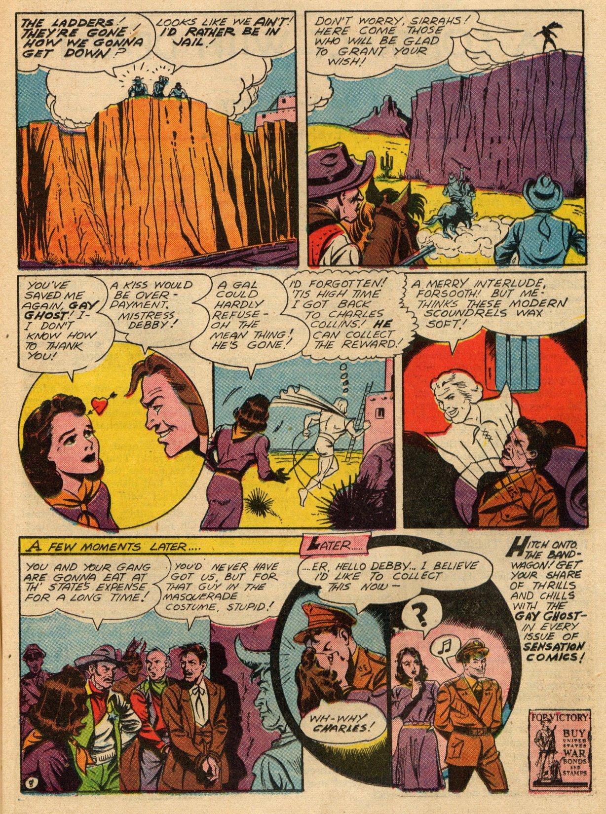 Read online Sensation (Mystery) Comics comic -  Issue #22 - 38