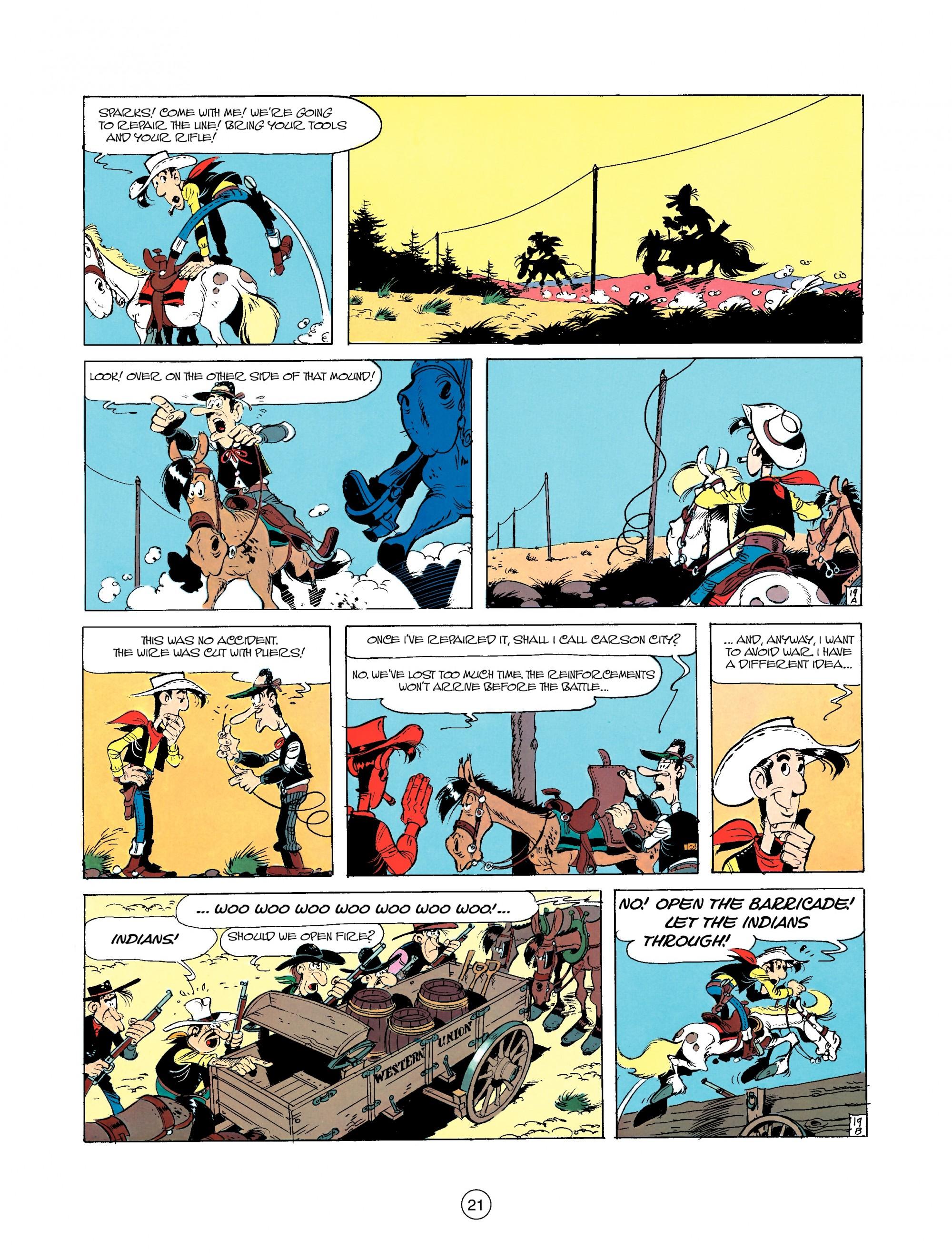 Read online A Lucky Luke Adventure comic -  Issue #35 - 21