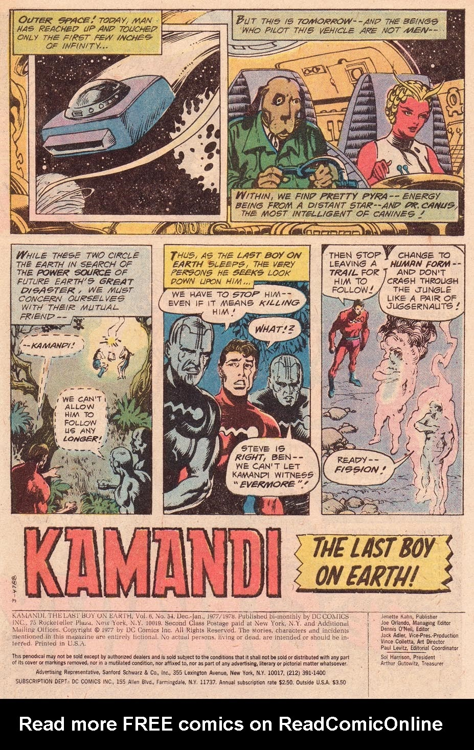 Kamandi, The Last Boy On Earth issue 54 - Page 3