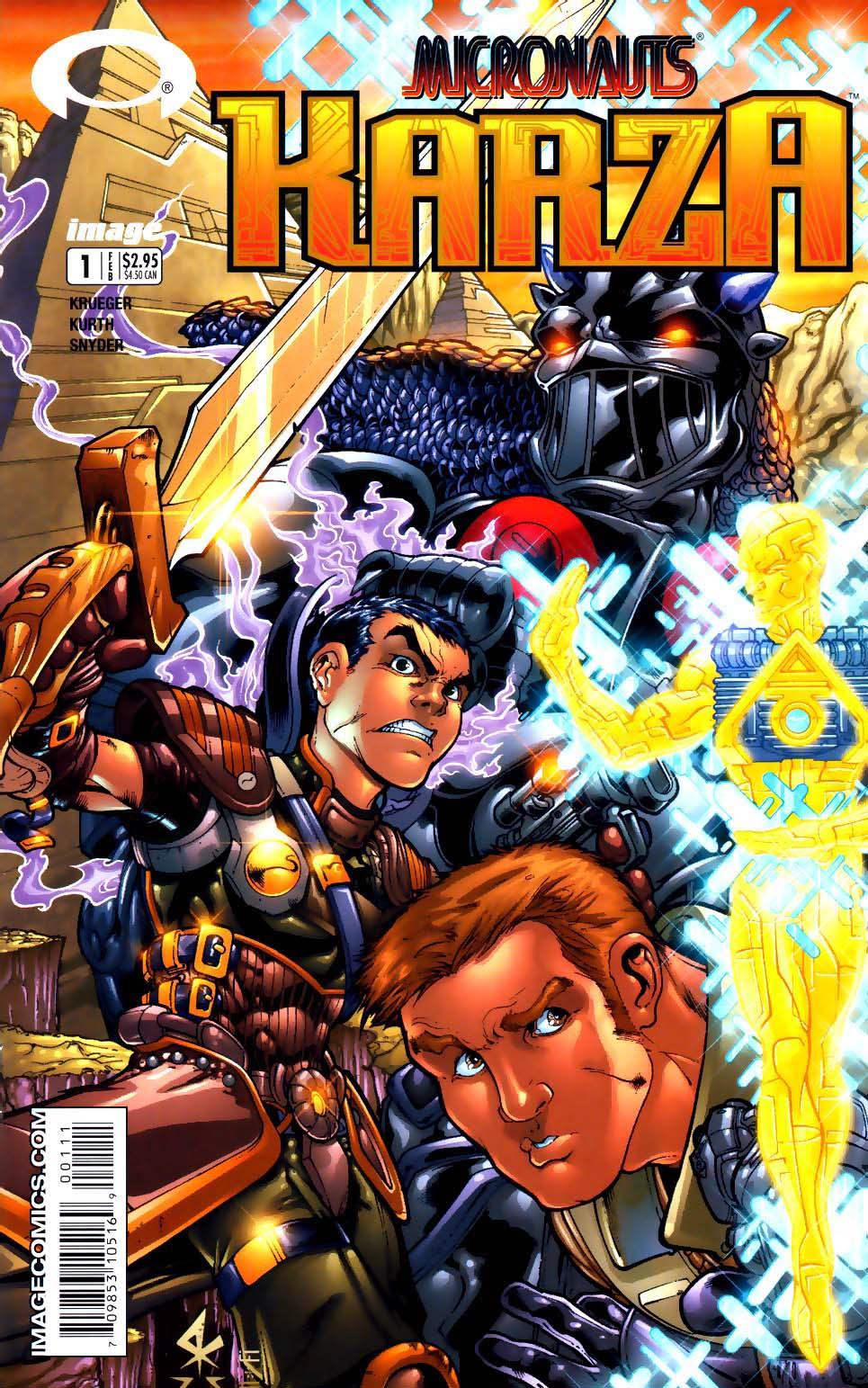 Micronauts: Karza issue 1 - Page 1