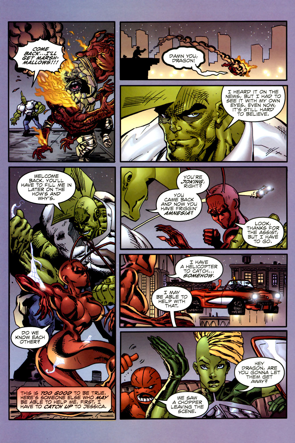 Read online Ant comic -  Issue #2 - 19